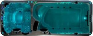 Dual zone temperature Swim spa - 4 seasons spa pool - 5000$ discount