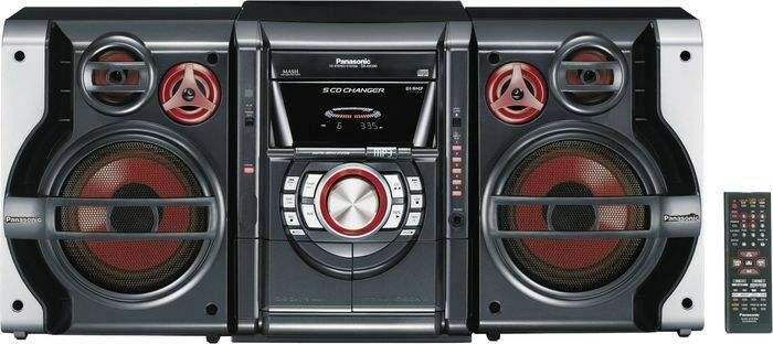 panasonic sa ak630 cd stereo system purchase sale and. Black Bedroom Furniture Sets. Home Design Ideas