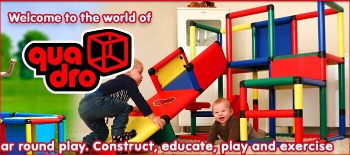 Quadro kit, build your own climbing frame! 142+ pieces | in Edinburgh City  Centre, Edinburgh | Gumtree