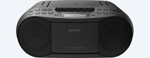 Sony CD/Cassette Boom Box with Radio