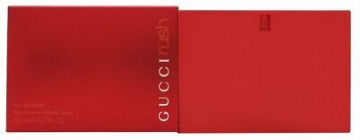 GUCCI RUSH EAU DE TOILETTE EDT 50ML SPRAY - WOMEN'S FOR HER. NEW. FREE SHIPPING