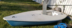1987 Laser Class One sailboat