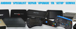 Android Box IPTV Mag Buzz MyGica ●Upgrade ●Fix ●Repair ●Support