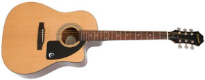 Epiphone DR-100 Acoustic - Natural (new)