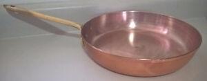 "Vintage TAGUS 10"" Copper  Pan"