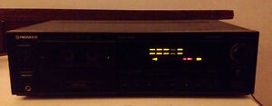 Vintage Pioneer CT-S507R Stereo Cassette Deck with Auto Reverse