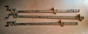 "3 Adjustable Bar 48"" Bar Clamps"
