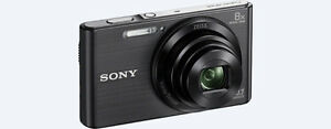 New Sony W830 Compact Camera with 8x Optical Zoom