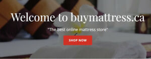 PILLOW TOP DOUBLE MATTRESS AND BOX- NO TAX – FREE SHIPPING