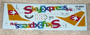 Draw Decal 1/144 737-300 Sky Express.RU - FREE NA SHIPPING