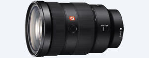 Two Sony FE Lens f4 16-35mm and f2.8 35mm GM 24-70mm