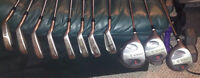 Goliath Black Diamond Golf Clubs & TNT Putter - Left Hand