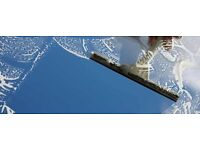 Experienced window cleaner