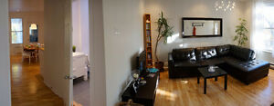 Sunny 2 bedroom apartment in the heart of Montreal