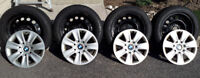 """16"""" BMW Winter Rims and Hubcaps"""