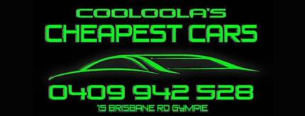 Cooloola's Cheapest Cars