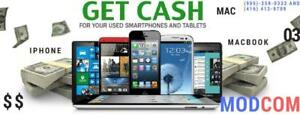 Wanted: We give CASH for your Used  Deskop PC, Laptop , tablet and phones.