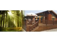 Idyllic York Lodge immersed in 250 Acre Pine forest