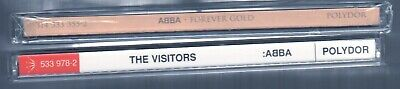 ABBA 3 CDs: NEW SEALED Forever Gold (x2) 39 Tracks + The Visitors Remaster Bonus