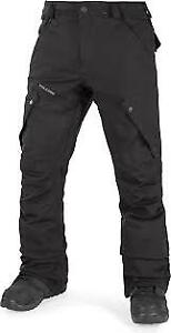 Black Volcom Snow pants XL youth and black Jacket