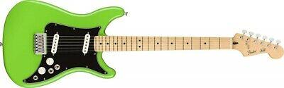 Fender Guitarra Eléctrica Jugador Cable II Arce Diapasón Neón Verde