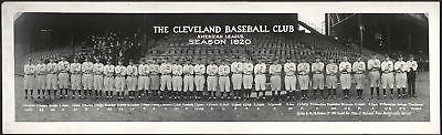 "1920 Cleveland Indians, Antique Baseball, World Series winners, 30""x10"" PHOTO"