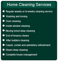 RESIDENTIAL HOUSE CLEANING (WELLAND AREA)