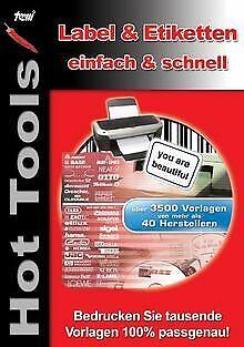 Hot Tools Label und Etikettendruck von United Indepe... | Software | Zustand gut