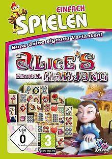 Alice's Magical Mahjong (Einfach Spielen) von EuroVideo ... | Game | Zustand gut na sprzedaż  Wysyłka do Poland