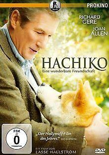Hachiko - Eine wunderbare Freundschaft von Lasse Hallström   DVD   Zustand gut