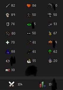 Runescape OSRS main account for sale + RS3 account same login