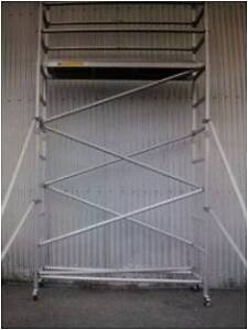 Aluminium Mobile Scaffold Tower Platform height 3.45m Model N46 Archerfield Brisbane South West Preview