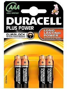 Duracell Plus Power AAA batterijen (4)