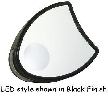 LED BLACK MIRRORS PAIR HARLEY ELECTRA GLIDE FLHT FLHTC FLHTCU ULTRA 1996-2013