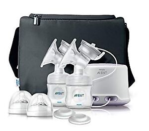 New Avent Double Breast Pump