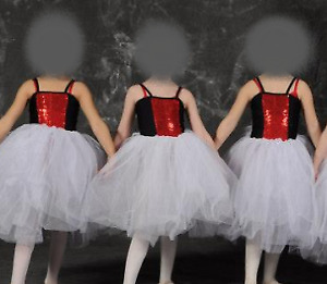 Costumes de danse - Lot de camisoles devant en brillants