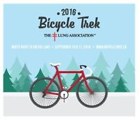 Bicycle Trek for Life & Breath 2016