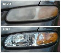 Headlights restoration for just $25(both) and less then 10 min.