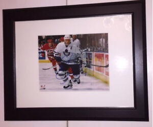 Gary Roberts Toronto Maple Leafs Signed photo Framed