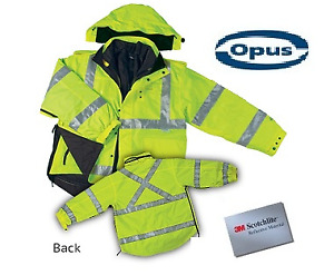 6 in 1 High Visibility Jacket - BRAND NEW