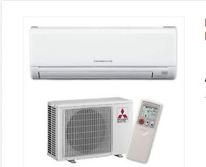 MITSUBISHI ELECTRIC 2.5KW INVERTER SPILT SYSTEM AIR CONDITIONER M Freshwater Manly Area Preview
