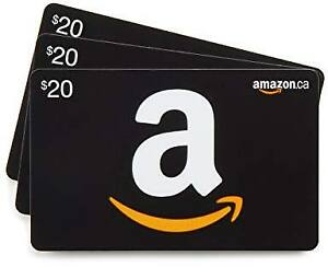 Amazon.ca Gift Card 75% face value