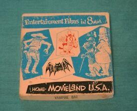 MovieLand USA 8mm Children's film - The Vampire Bat