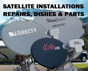 Satellite Dish Installs SHAW DIRECT BELL DIRECT DISH FTA. New In