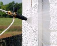 Menage /Lavage à pression / vitres /nettoyage de gouttiere