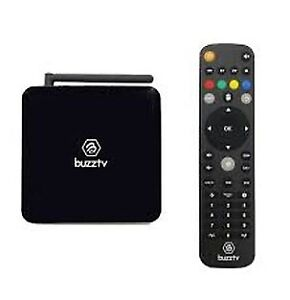 BuzzTV XPL 3000M & Basic Android IPTV OTT set-top HD 4K TV Box