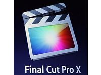 FINAL CUT PRO X for MAC.