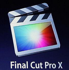 FINAL CUT PRO 10.3.4 MAC.
