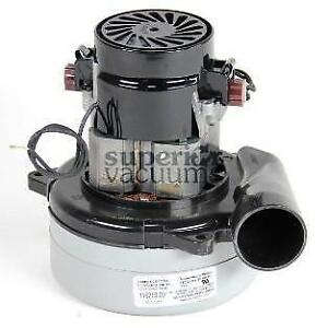 """Motor 2 Stage 240 Volt 5.7"""", Bypass Tangential Bearing Bearing 4.6 Amps Plastic Horn"""