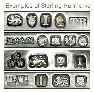 Paranormalpi s guide to buying sterling silver jewelry on for How to identify gold jewelry markings